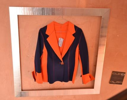 giacca in tessuto high-tec double face che si può lavare in lavatrice e stirare!